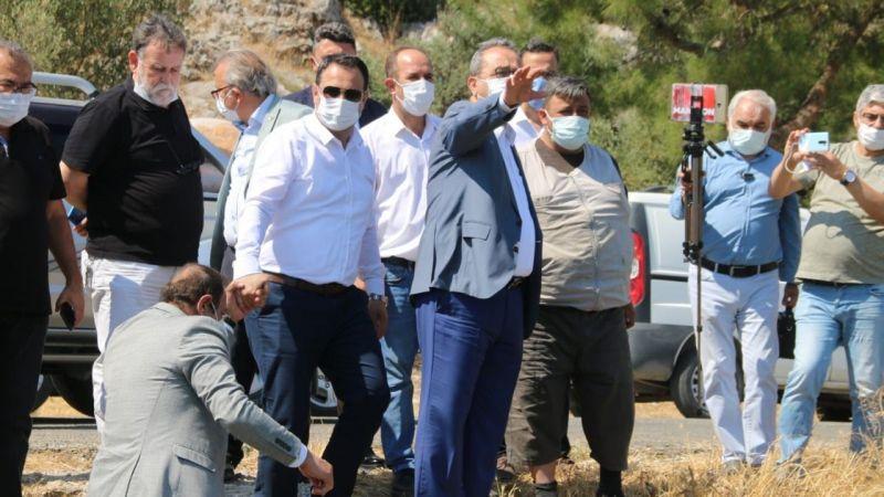 CHP Doğanbey Mahallesi'ne çıkartma yaptı