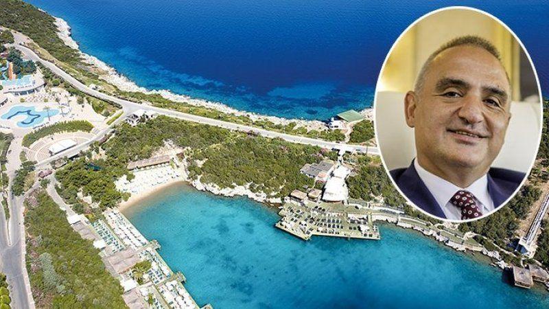 Bir skandal daha: Otel sahibi Turizm Bakanı Ersoy'dan kendisine kıyak