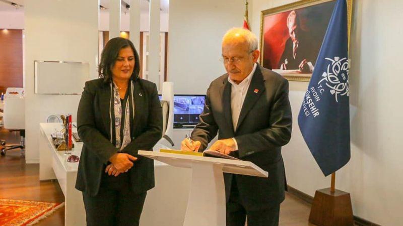 CHP lideri Kemal Kılıçdaroğlu'ndan Başkan Çerçioğlu'na ziyaret