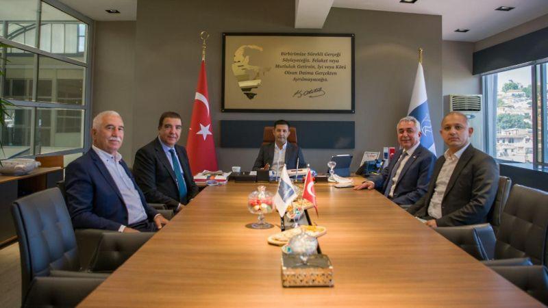 CHP PM üyesi Erdoğan Toprak'tan Başkan Ömer Günel'e teşekkür