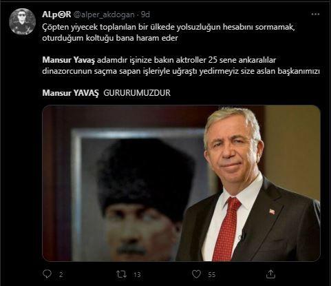 Mansur Yavaş'ın sözleri sosyal medyayı salladı