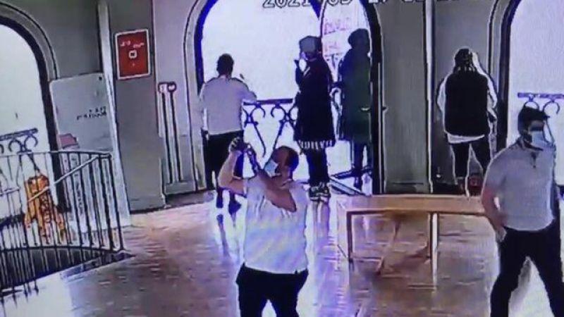 Galata Kulesi'nde korkunç olay! Genç kız kendini aşağı böyle bıraktı