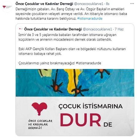 Çocuklarını istismarla suçlanan AKP eski gençlik kolları başkanına şok!