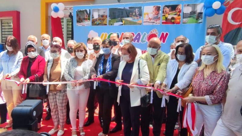 Aydın Büyükşehir Belediyesi'nden bir açılış daha: Uçan Balon Çocuk Gelişim Merkezi hizmete açıldı