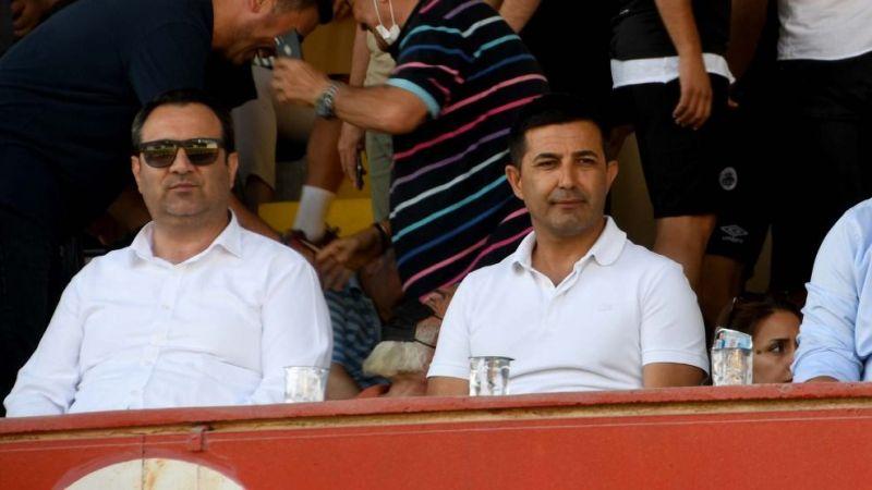 Başkan Ömer Günel Kuşadası Gençlik Spor'u yalnız bırakmadı