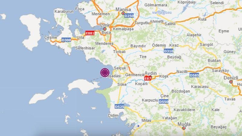 Son dakika..! Aydın'da deprem..