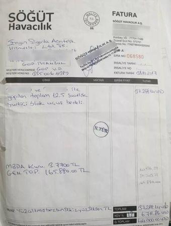 İçişleri Bakanlığı belge paylaştı: Süleyman Soylu SBK'nın uçağını kullandı mı?