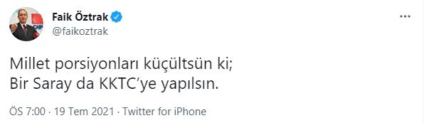 Faik Öztrak'tan Erdoğan'ın müjdesine Emine Erdoğan hatırlatmalı yanıt!