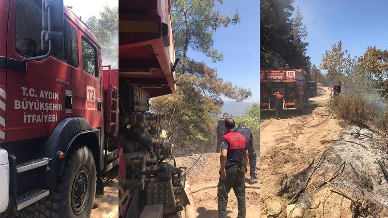 Aydın Büyükşehir Belediyesi İtfaiyesi'nin yoğun çalışmaları devam ediyor