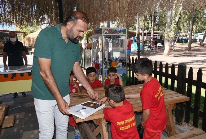 Kuşadası Belediyesi Nusaybinli çocukları misafir etti