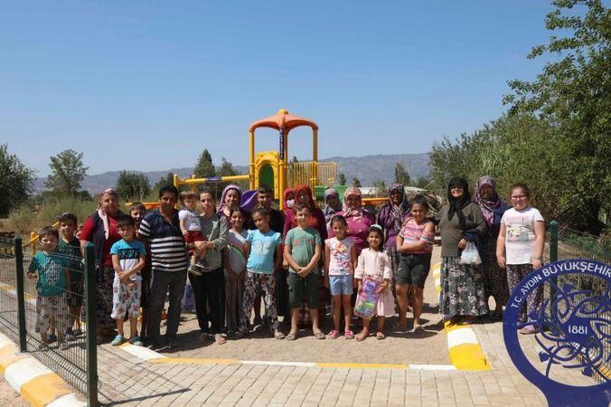 Çocuklar istedi Aydın Büyükşehir Belediyesi yaptı