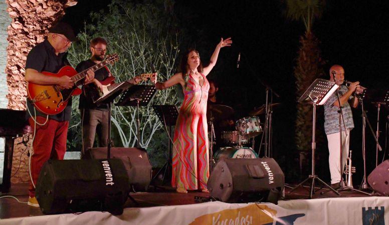 Türk cazının ustalarından Güvercinada'da konser