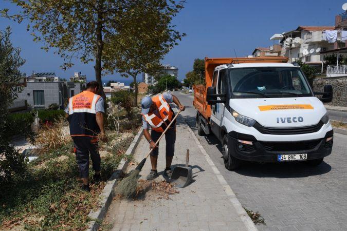 Kuşadası Belediyesi'nin acil müdahale ekibi 900 talebi çözüme kavuşturdu