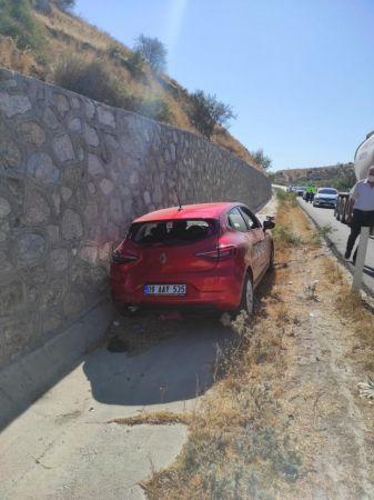 Aydın'da otomobil ile tır çarpıştı: 2 yaralı