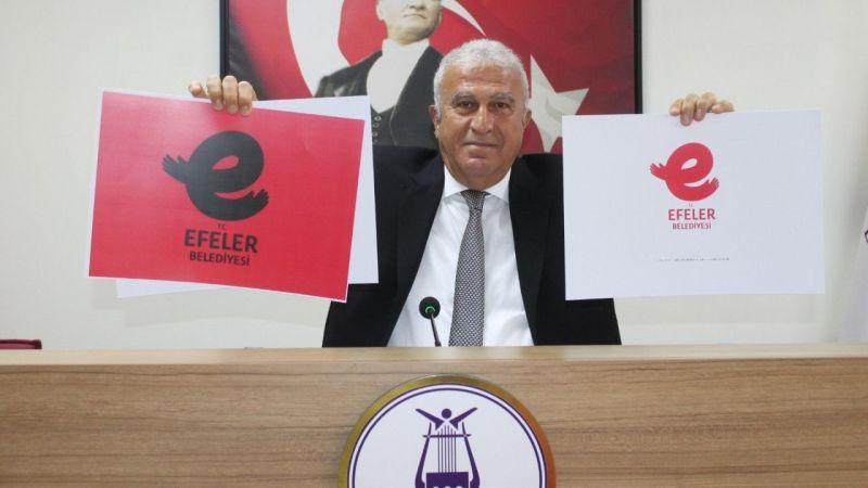 Efeler Belediyesi'nin yeni logosunda neden E harfi ön plana çıkartılmak isteniyor?