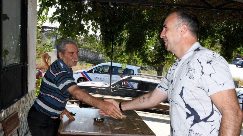Kuşadası Belediyesi Yeniköy Mahallesi'nde vatandaşlarla buluştu