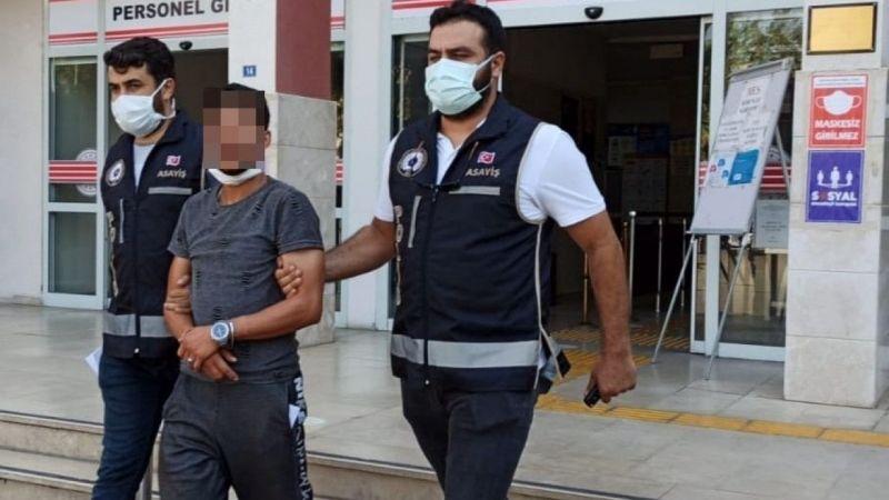 Aydın'da okul binasından kalorifer peteği çalan şahıslar yakalandı