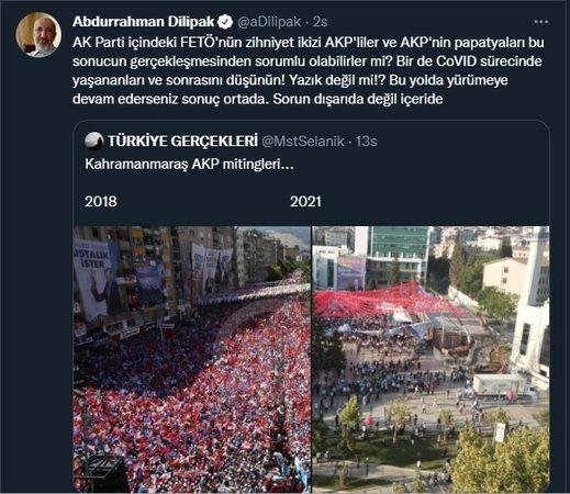 Abdurrahman Dilipak, Erdoğan'ı bu fotoğrafıyla köşeye sıkıştırdı!