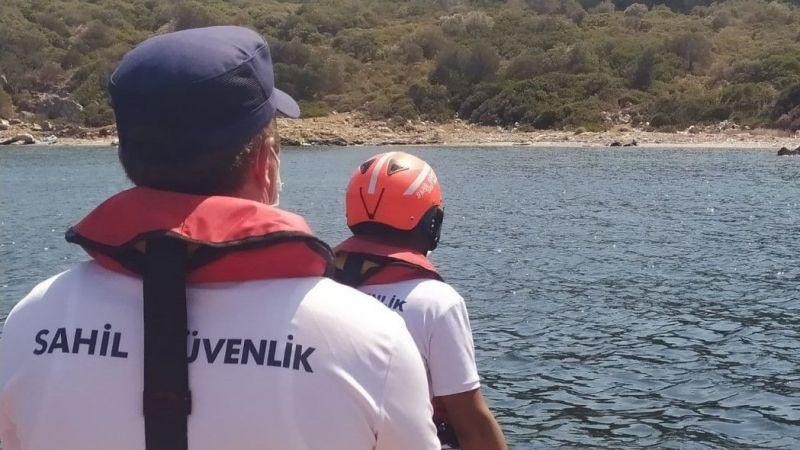 Aydın'da yüzerek karaya çıkan 3 düzensiz göçmen kurtarıldı