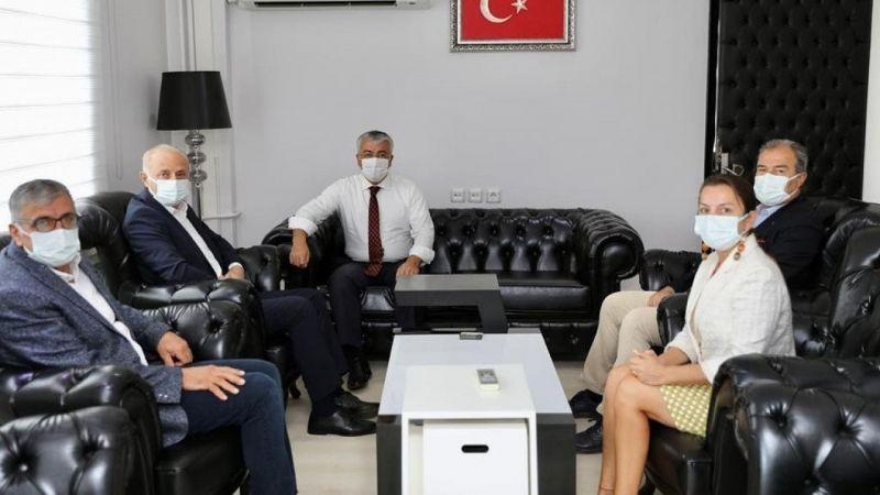 Başkan Atabay Kaymakam Yiğit'e 'hayırlı olsun' dileklerini iletti