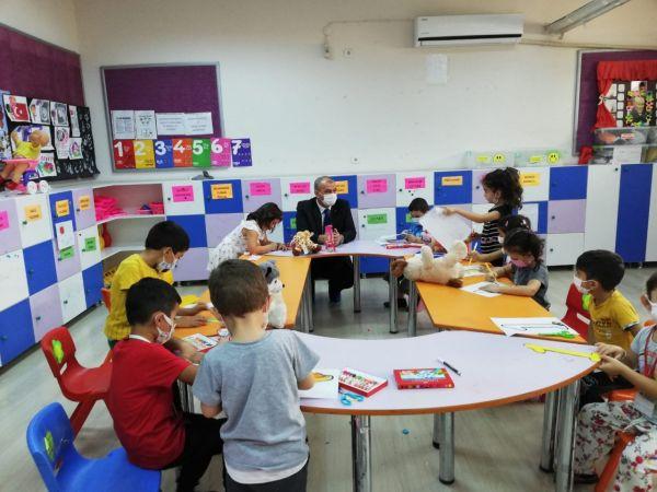 İl Milli Eğitim Müdürü Okumuş, Çine'de öğrencilerle bir araya geldi