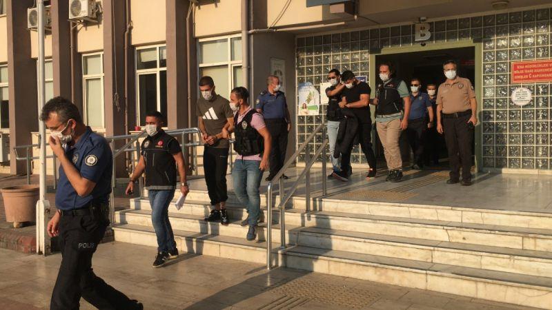 Aydın'da durdurulan otomobilden 2 kilogram uyuşturucu çıktı