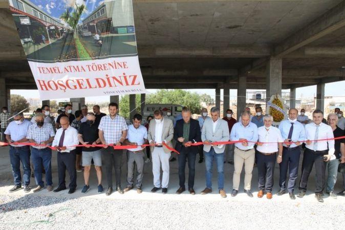 Başkan Atabay, Küçük Sanayi Sitesi temel atma törenine katıldı
