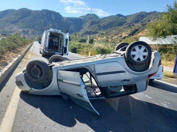 Söke'de feci trafik kazası