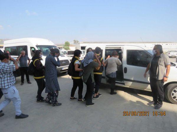 İzmir'den Aydın'a gelen yankesiciler, polisten kaçamadı