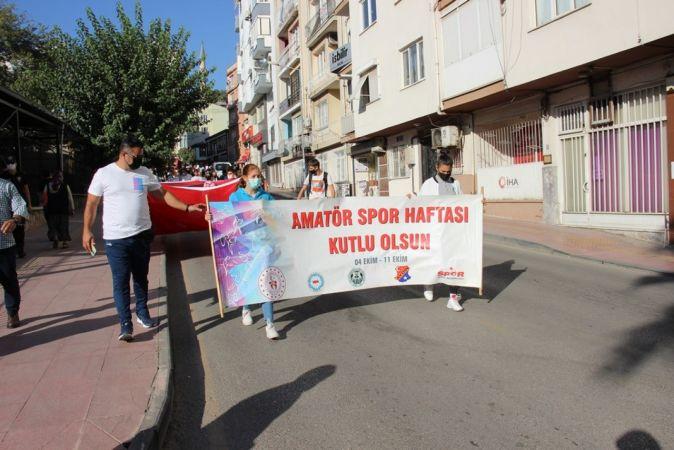 Amatör Spor Haftası Aydın'da törenle başladı