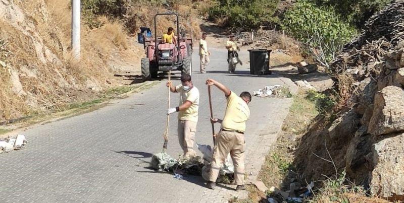 Nazilli Belediyesi ekipleri daha temiz Nazilli için çalışmalarını sürdürüyor