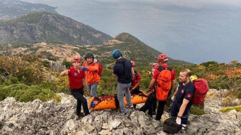 Feci olay: Rus pilot kayalıklara düştü!