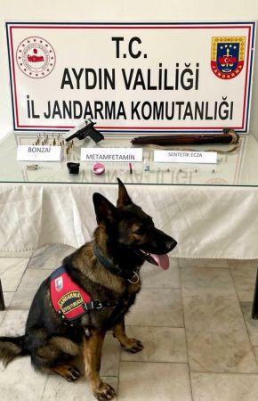 Aydın 'da uyuşturucu operasyonu