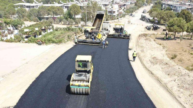 Büyükşehir 15 farklı noktada yol yapım çalışmalarına devam ediyor
