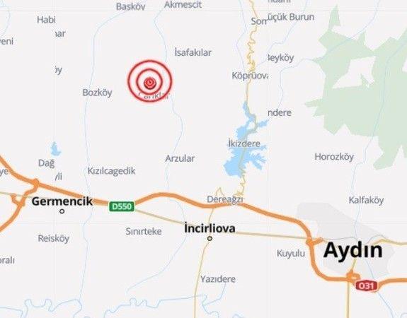 Aydın'da deprem! Fena sallandık