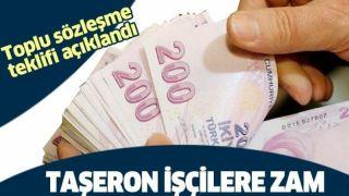 Türk-İş toplu sözleşme teklifi.