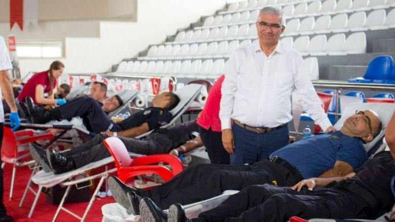 15 Temmuz anısına Kızılay'a kan bağışı