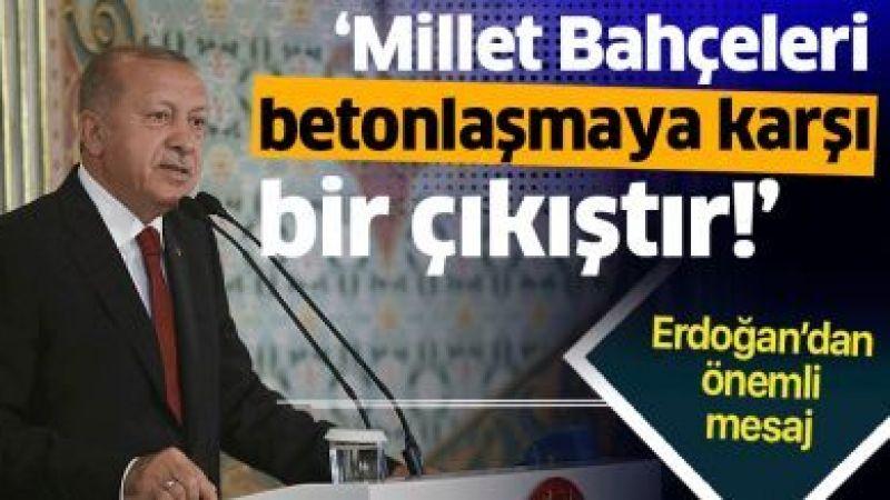 Başkan Erdoğan'dan 2. Uluslararası Sosyal Bilimler Kongresi'nde önemli açıklamalar.