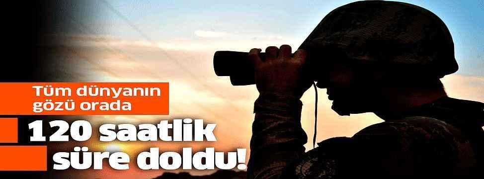 YPG'li teröristlere tanınan süre doldu .