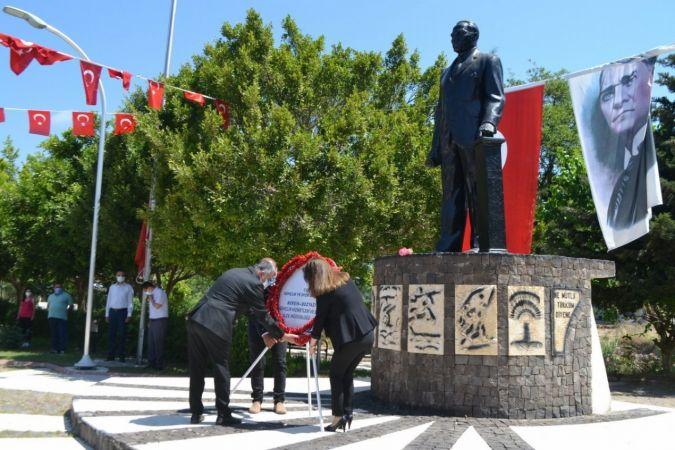 19 Mayıs, Bozyazı'da sade bir törenle kutlandı