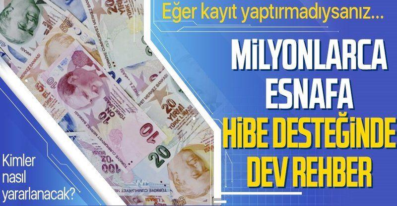 Başkan Erdoğan, esnafa 4.6 milyar TL'lik desteği duyurdu: Esnafa destekten kimler yararlanacak?