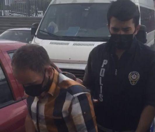 (Özel) İstanbul'da hırsız çaldığı elektrikli motosikleti şarj ederken yakalandı