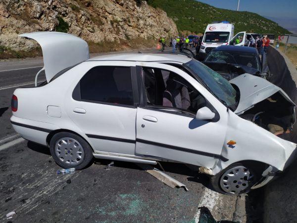Gaziantep'te zincirleme trafik kazası: 2 ölü, 8 yaralı