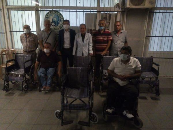 5 engelliye tekerlekli sandalye