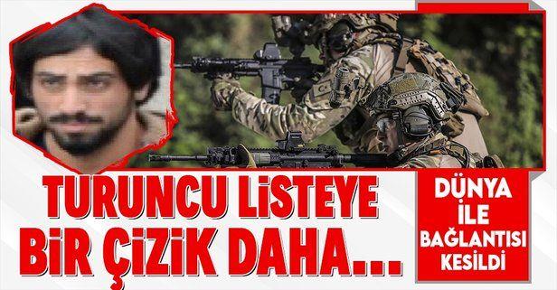 """""""Turuncu"""" kategoride aranan 1 milyon TL ödüllü terörist öldürüldü"""