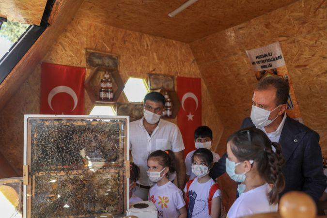 İlk 'Bal Evi' satış noktası Yenişehir'e yerleştirildi