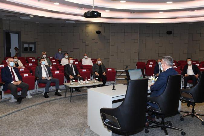 """Vali Elban: """"Ceyhan OSB'yi tamamlamak için çaba sarfediyoruz"""""""