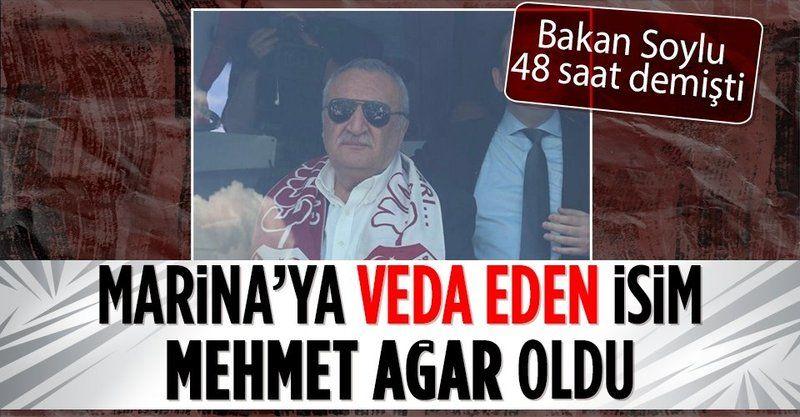 Eski İçişleri Bakanı Mehmet Ağar Yalıkavak Marina'daki görevinden ayrıldı