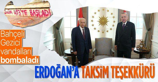 """MHP lideri Devlet Bahçeli: """"Zulüm 1453'de başladı diyenlerin soyu bozuk, sütü lekelidir!"""""""