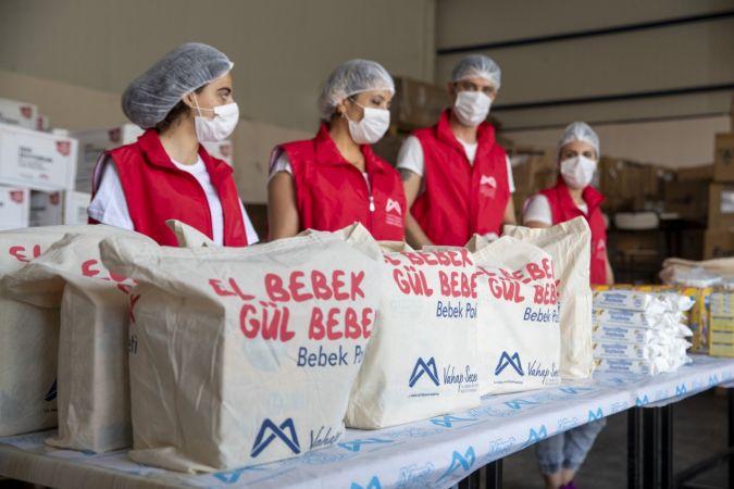 Büyükşehir Belediyesinin dağıttığı bebek paketi 15 bin 265'e ulaştı